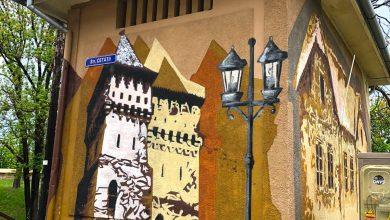 Photo of Graffiti pe cea mai frumoasă stradă din Sibiu