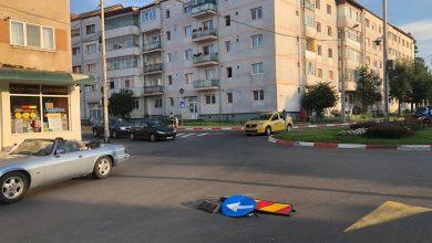 Photo of Pericol de accident în sensul giratoriu de la intrarea pe Siretului