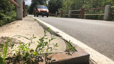 Photo of Fiți atenți la capcana de pe marginea drumului, când veniți de la Cisnădioara