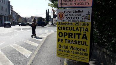 Photo of În atenția șoferilor:Turul Ciclist al Sibiului modifică regimul de circulație!