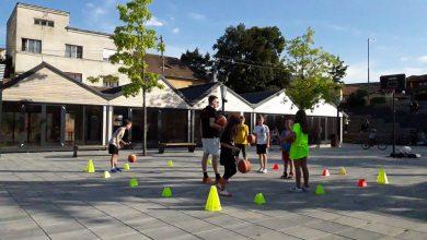 Photo of Ore de baschet pentru juniori, în Piața Habermann Markt