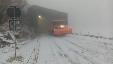 Photo of Iarnă, pe Transfăgărășan. O porțiune a drumului se va închide marți
