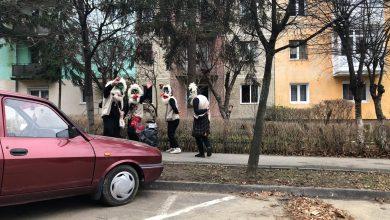 Photo of FOTO/VIDEO Inedit: cum se merge cu capra și colindul în pandemie, la Sibiu