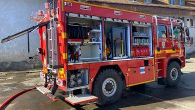 Photo of Incendiu la un autobuz cu călători, pe Șoseaua Alba-Iulia