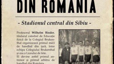 Photo of Handbalul sibian a împlinit un secol. Echipa României joacă cu naționala Suediei la Sala Transilvania