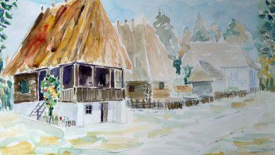 Photo of Peisaje și monumente din CNM ASTRA, pictate de muzeograful Adrian Stoia și expuse în Dumbrava Sibiului
