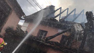 Photo of O casă din Sibiel a luat foc în prima zi de Paști