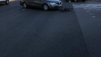 Photo of Accident la ieșirea din Sibiu spre Șelimbăr. Un biciclist, lovit de mașină