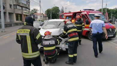 Photo of Accident pe Coposu. Un șofer de 68 de ani, dus la Urgențe