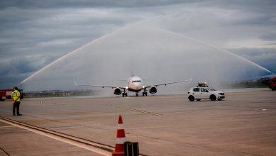 """Photo of 1 Iunie a """"aterizat"""" pe Aeroportul Internațional Sibiu cu primul zbor spre Veneția"""