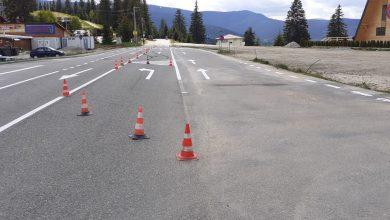 Photo of Drumul spre Păltiniș, asfaltat pe tronsonul din apropierea schitului. Unde se mai fac lucrări