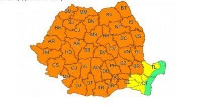 Photo of Cod portocaliu de ploi, în județul Sibiu, până mâine dimineață
