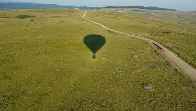 Photo of Zboruri cu baloane cu aer cald, deasupra orașului Ocna Sibiului