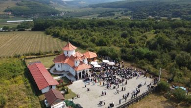 """Photo of Mănăstirea """"Acoperământul Maicii Domnului"""" din Şura Mare a fost sfinţită"""