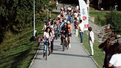 Photo of 500 de oameni au venit pe bicicletă la Astra Film Festival